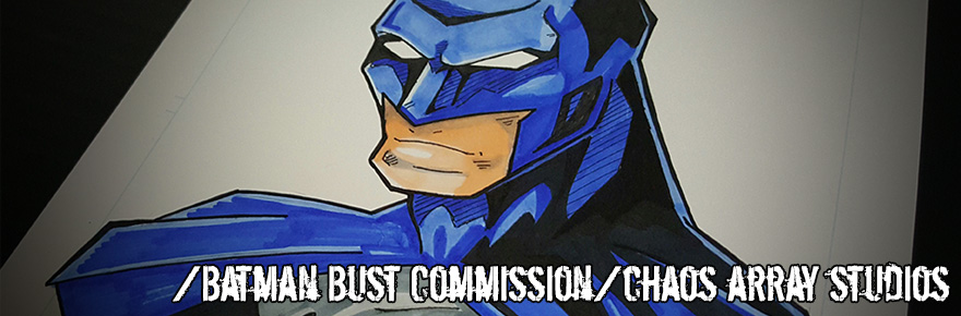 Batman Bust Commission